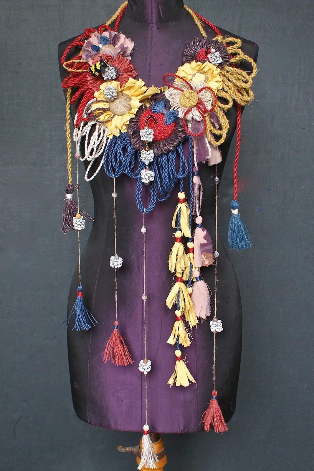 Flax garland by Jessica Light