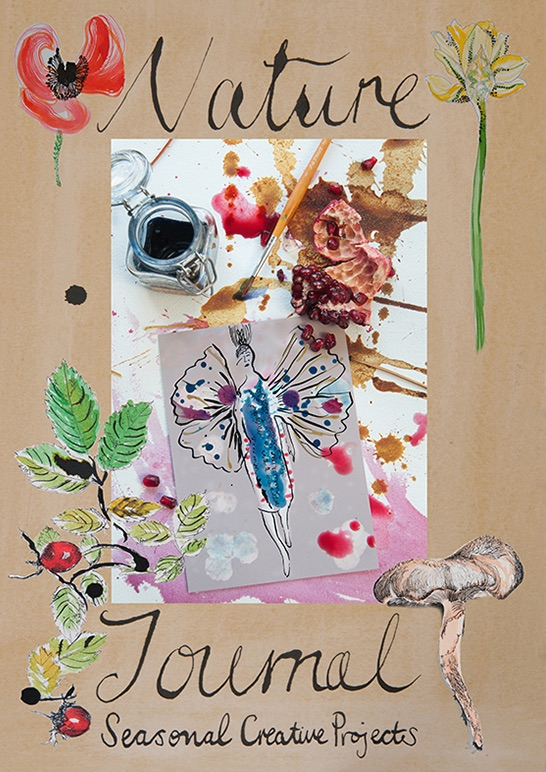 Nature Journal book cover by Zoe Burt and Marianne Wie