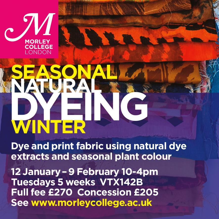 Seasonal Natural DyeingWinter
